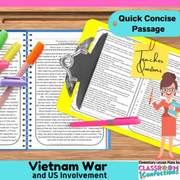 Vietnam War: Reading Passage
