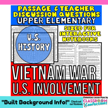 Vietnam War: Non-Fiction Reading Passage