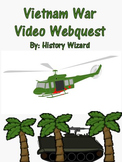 Vietnam War Video Webquest (Great Lesson Plan/Simple To Use)