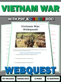 Vietnam War - Webquest with Key (History.com)