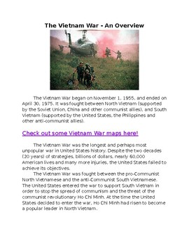Vietnam War - an overview