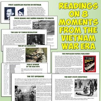 Vietnam War and Resistance Lesson Plan