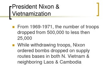 Vietnam War and its Legacy