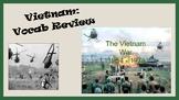 Vietnam War - vocabulary