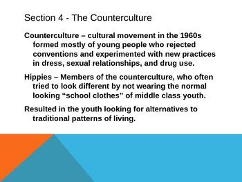 Vietnam and the Counterculture Movement