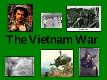Vietnam war lesson by powerpoint