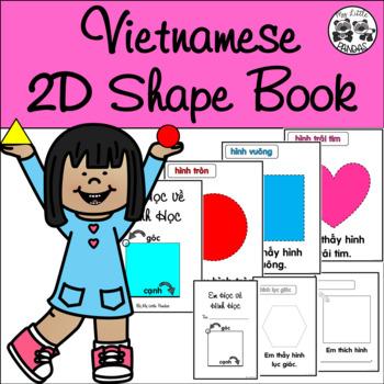 Vietnamese 2D Shape Book