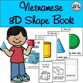 Vietnamese 3D Shape Book