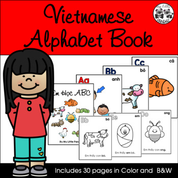 Vietnamese Alphabet Book