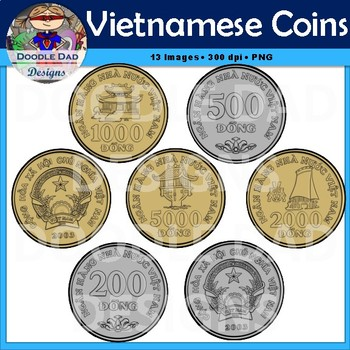 Vietnamese Coins (Dong, Money, Currency, Asia, Change)