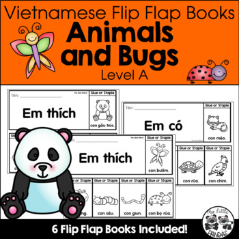 Vietnamese Flip Flap Books *Animals and Bugs*