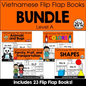 Vietnamese Flip Flap Books BUNDLE