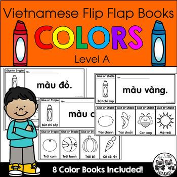 Vietnamese Flip Flap Books *COLORS*