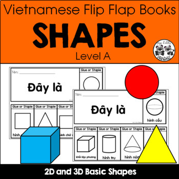 Vietnamese Flip Flap Books *SHAPES*