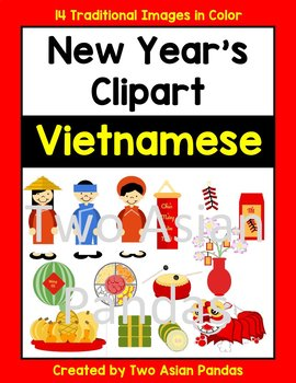 Vietnamese New Year Clipart for Tet