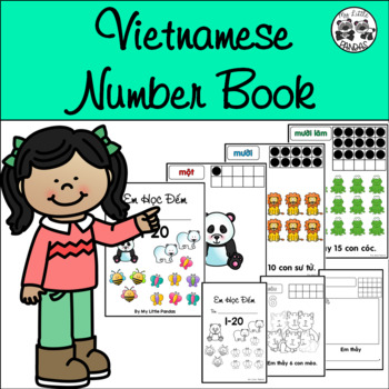 Vietnamese Number Book