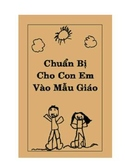 Vietnamese Preparing Your Child for Kindergarten