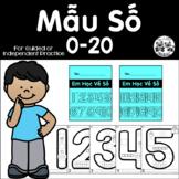 Vietnamese Student Number Sense Book 0-20