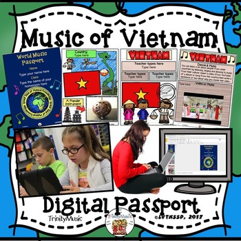 Vietnam World Music Digital Passport