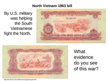 Vietnam's History in Their Currency lesson plan and PowerPoint