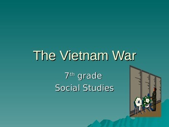 Vietnman War Intro and Worksheet