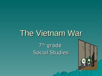 Vietnman War Intro and Worksheet