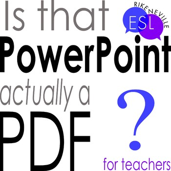 View a PDF Like a PowerPoint (instructions)