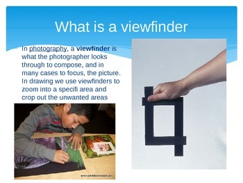 Viewfinder Drawing Assignment