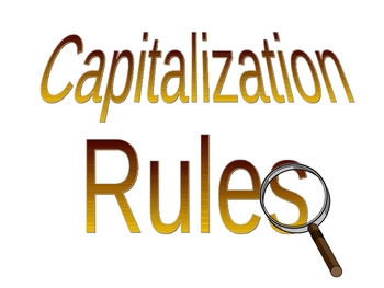 Viewing Capitalization Rules