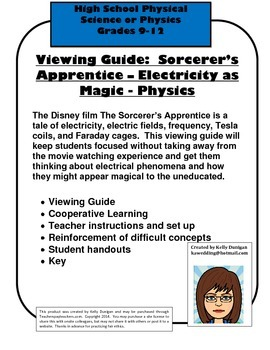 Viewing Guide: 2010 Sorcerer's Apprentice in the Physics C