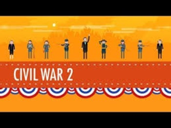 Viewing Guide- Crash Course US History #21: The Civil War Part 2