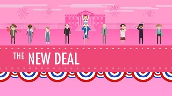 Viewing Guide- Crash Course US History #34: The New Deal