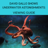 David Gallo Shows Underwater Astonishments: Viewing Guide