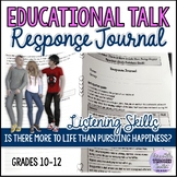 Viewing Response Journal (Video): Is There More to Life th