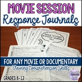 Movie/Film Response Journals for Any Movie and Documentary