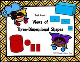 Views of 3D Shapes {Math Task Cards}