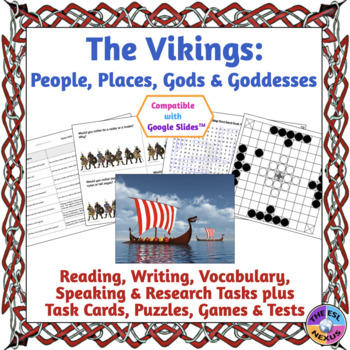 Viking Curriculum Unit: Explorers, Rulers, Places, Gods and Goddesses