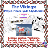 Viking Curriculum Unit: Explorers, Rulers, Places, Gods an