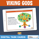 Viking Gods • Boom Cards • Distance Learning