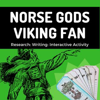 Viking Gods Fan (Interactive Notebook)