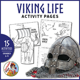 Vikings - Viking Life Activity Pages