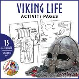 Vikings - Viking Life Activity Pages