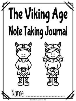 Viking Life CKLA Note Taking Journal