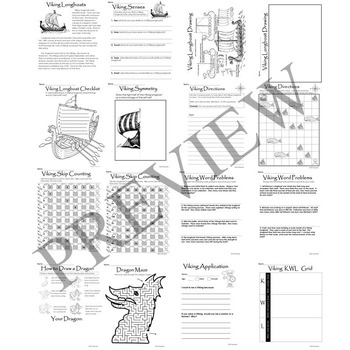 Viking Activity Packet