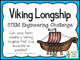 Viking Longship - STEM Engineering Challenge