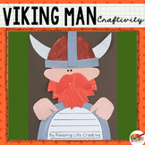 Viking Man Craftivity Template
