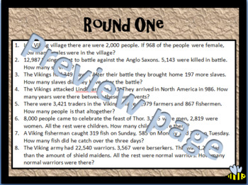 Viking Math Quest and Runes
