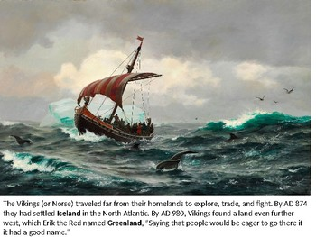 Viking / Norse Explorations and Settlements in North America