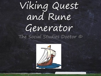 Viking Quest Interactive Game Worksheet