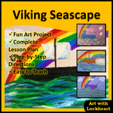 Viking Seascape Drawing Activity